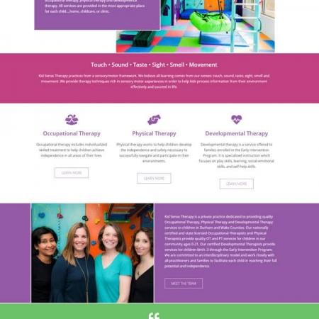 kid-sense-therapy-website-design