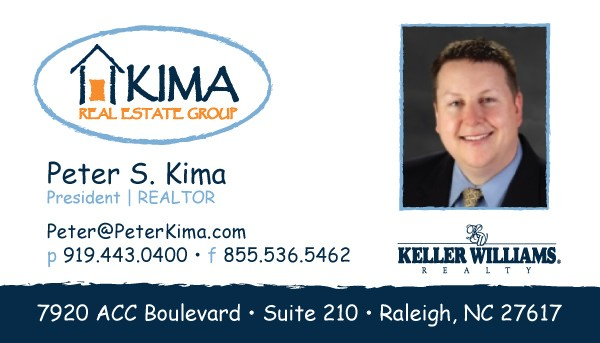Kima Real Estate Business Card Design