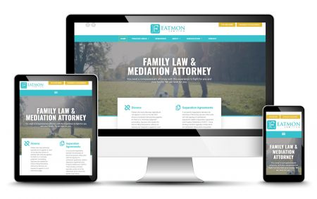 law firm attorney website design development