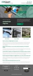 LeafGuard Home Improvement Web Design & Development