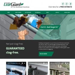 LeafGuard Web Design & Development