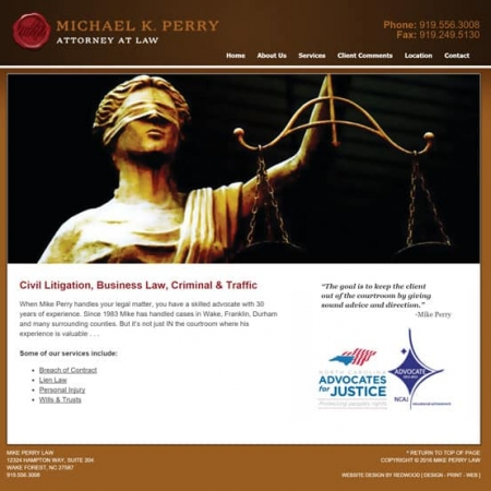Attorney Website Development