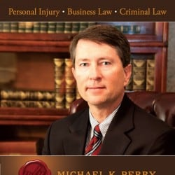 Michael Perry Attorney Law FirmAdvertisement Design