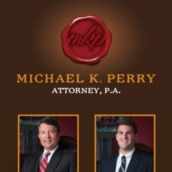 Michael Perry Attorney Law FirmBanner Design