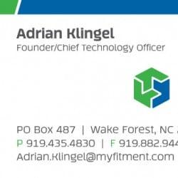 Mechanical Business Card Design