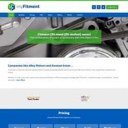 Myfitment Automotive Web Design