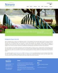 Neuro community Care Health Care Website Design & Development