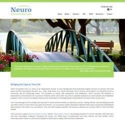 Neuro community Care Website Design & Development