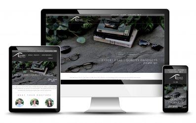 Optometrist Website Design