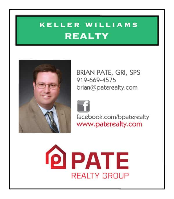 Pate Realty Real Estate Business Card Design