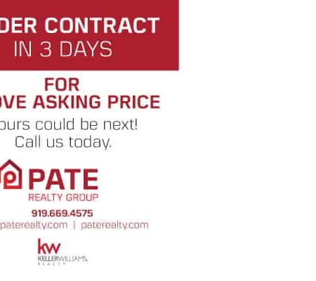 Pate Realty Real Estate Postcard Design Back