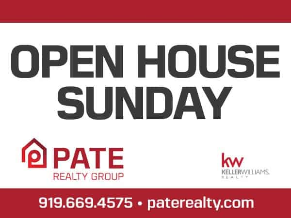 Pate Realty Yard Sign Design