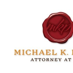 MIchael K Perry Law Firm Logo Design
