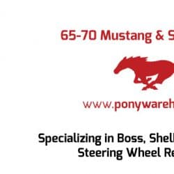Pony Warehouse Automotive Business Card Design Back