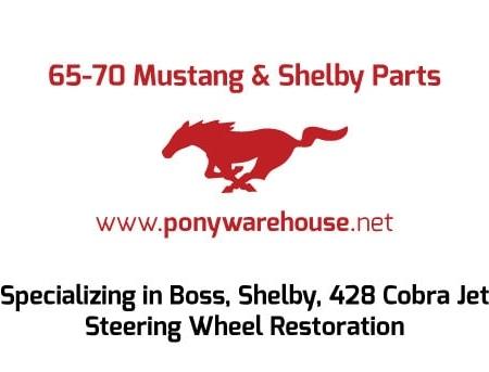 Pony Warehouse Automotive Business Card Design Back