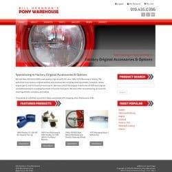 Pony Warehouse Web Design & Development