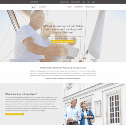 Retirement Planning Website Design & Development Serving Raleigh and Wake Forest