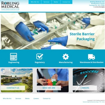 Robling Medical Website