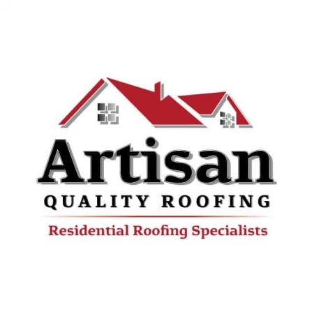 roofing logo design artisan quality roofing