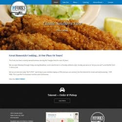 The Forks Cafeteria Web Design & Development