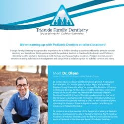 Triangle Family Dentistry Email Marketing