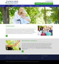 Vanguard Reimbursement Services Health Care Web Design & Development